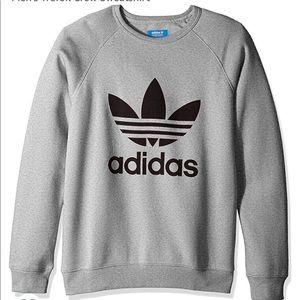 Adidas grey crew neck !